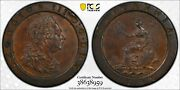Great Britain 2 Pence 1797 S-3776 Pcgs Au58 Exceptional Eye-appeal