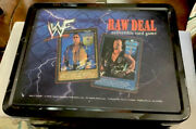 Neca Wwf Raw Deal Collectible Tin Lunchbox The Rock Stone Cold Steve Austin‼️