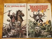 The Walking Dead 129 And Manifest Destiny Issue 8 - Combo Variant Covers