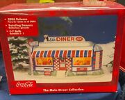Coca-cola Main Street Collection Ed's Diner 2006 In Box