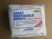 Johnson And Johnson Adult Diapers Vintage Nos Unopened