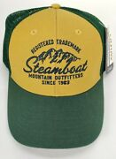 Steamboat Colorado Skiing Snowboarding Ball Cap Trucker Hat Embroidered Ouray