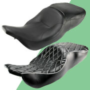 Motorcycle Driver Rider Passenger Seat For Harley Touring Electra Glide 1997-07