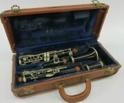 Alexandre Paris Intermediate Wood Clarinet With Case, Germany, Fair Condition,