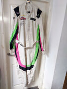 2018 Ginetta Gt4 Supercup Btcc Support Carl Boardley Team Hard Signed Race Suit