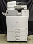 Ricoh Mp C4504ex Color Copier Network Print Scan Fax Internal Finisher