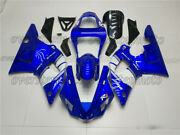 Injection Body Kit Fairing Fit For 00-01 Yzf R1 2000-2001 Blue Abs Mold New Aar