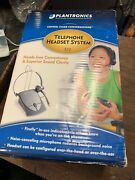 Plantronics S12 Corded Office Telephone Hands Free Headset System New Sealed