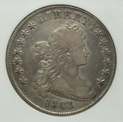 1801 Us Draped Bust Silver Dollar 1.00 1 Cleaned You Grade
