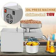 Automatic Seed Oil Press Machine Stainless Steel Cold Hot Expeller Extractor Usa