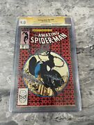 Amazing Spider-man 300 1988 Cgc Ss 9.0 Signed By Stan Lee And Todd Mcfarlane
