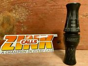 Zink Calls Nbg Nothing But Green Acrylic Duck Call-black Stealth