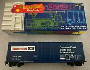 Ford Motorcraft Custom Painted 50` Boxcar Roundhouse Show Me Model Rr Nos Mint
