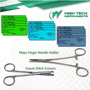 First Aid Preparation Kit Suture Pack Medical Supply Refill Items Instruments
