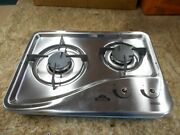 Capital 1204ss 2 Burner Drop-in Cooktop Stainless Steel Rv Free Ship 41