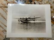 Pan American Airways Sikorsky S-42 Flying Boat Airliner Aircraft Photo 2124