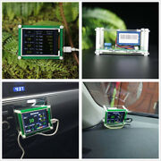 2.8 5v Car Pm2.5 Detector Tester Meter Air Quality Monitor Home Gas Thermometer