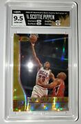 Scottie Pippen 96 97 Bowmanand039s Best Atomic Refractor Hga 9.5 Free Shipping