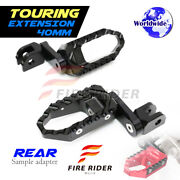 Trc 1.5 Inch Extended Rear Wide Foot Pegs For Buell S3 Thunderbolt All Year