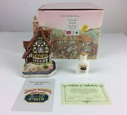 David Winter Cottages Thameside Collectors Guild No.13 1993 Signed With Coa Box