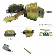 1960-62 Chevy Truck Manual Trans Fw Mount Power 8 Dual Booster Kit V8 Drum/drum