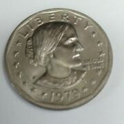 Susan B Anthony Liberty 1979 P One Dollar U.s. Circulated Coin Ungraded