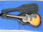 Gibson Melody Maker With Dual Pick-ups For Parts Or Repair Sunburst 1960and039s