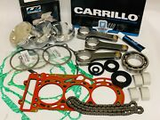 Can-am Can Am X3 X-3 Carrillo Rods Big Bore Complete Motor Engine Rebuild Kit