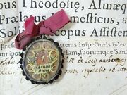 ✝ Reliquary Relic 1st Class St. Anne Mother Of Blessed Virgin Mary + Document