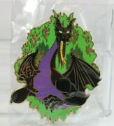 A4 Disney Shopping Store Le 300 Pin Maleficent As Dragon Jumbo Flames