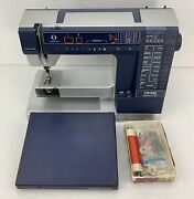 Husqvarna Viking 990 Computerized Embroidery Sewing Machine For Parts/repair