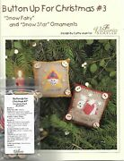 Button Up For Christmas 3 By Victoria Sampler Cross Stitch Pattern
