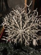 Municipal Christmas Decorations Light Up Snowflake Appx 36andrdquo