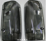 Ford Truck Bronco 87-96 All Smoke Tail Lights Clear Smoke Free Red Led Bulbs