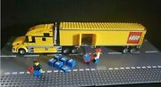 Rare Retired Lego City Truck Semi Truck And Trailer Set 3221 With Instruction M