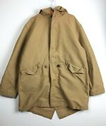 A1 Extremely Rare Vintage Polo Jean Company Lined Parka Men Fits Xl