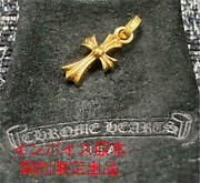 Invoice Original Chrome Hearts For Limited Time 22k Baby Fat Cross