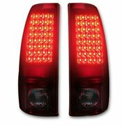 Recon Accessories Tail Light Assembly - Led 264173bk