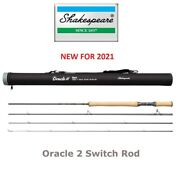 Shakespeare® Oracle 2 11' Switch Fly Rod 2021 Stock 3 Options New Model