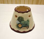 Yankee Candle Jar Tractor Themed Shade Topper