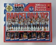 Usa Basketball Dream Team 300 Piece Poster Puzzle. New. Free Shipping