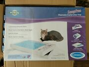 Petsafe Scoopfree Self-cleaning Non-clumping Crystal Cat Litter -6-pack Box Tray