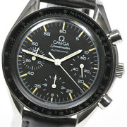 Omega Speedmaster 3510.50 Cal.1140 Black Dial Automatic Menand039s Watch_616647