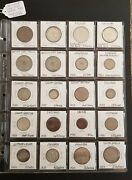 20 World Wide Coins Dated 1933 Some Very Rarecatalog Value Of 700+