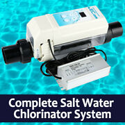New Type Complete Salt Water Chlorination System For Inground Above Ground Pool