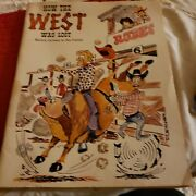 1969 How The West Was Lost Western Cartoons By Don Fletcher Comic Coloring Book