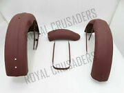 Triumph Tiger T90 Twin Front And Rear Mudguard Set + Stay Pre-drilled