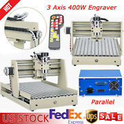 3 Axis Cnc 3040 Router Engraver Milling Drilling Cutting Machine W/ Controller
