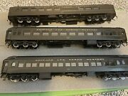 Ho Overland Omi Chicago And Northwestern The 400 3 Car Set And Walthers Obs