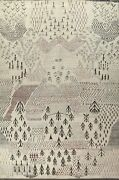 12x15 Ft. Large Geometric Moroccan Oriental Area Rug Wool Hand-knotted Carpet